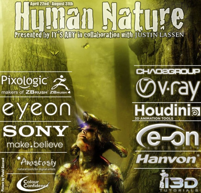 IT'S ART CG Competition : Human Nature