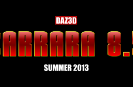 Exclusive news: Carrara 8.5 to be released end of summer 2013, Carrara 9 in Q1 2014
