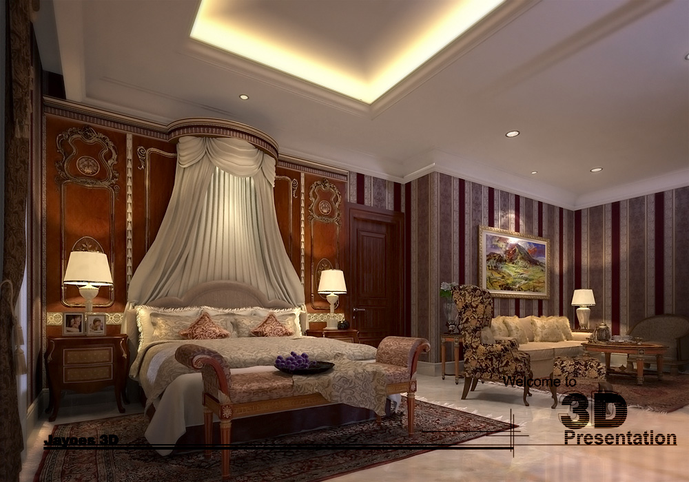 Interior Master bedroom 2 by Jayoes
