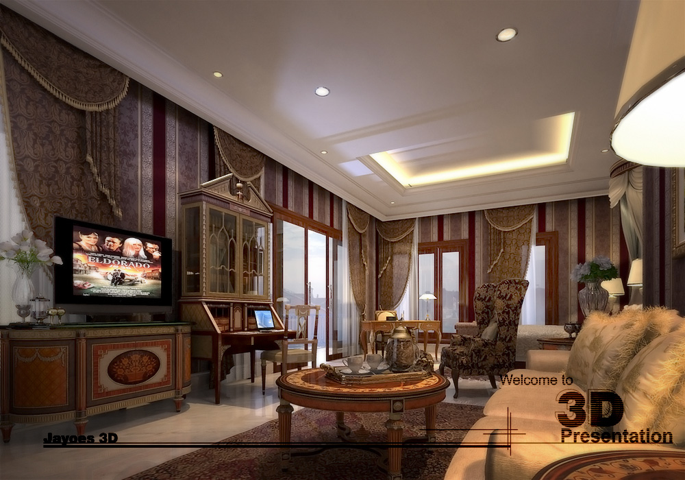 Interior Master bedroom 1 by Jayoes