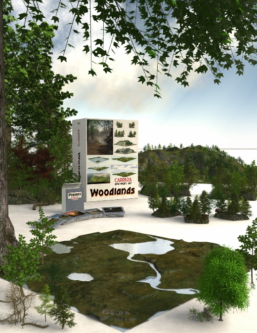 Carrara EnvironKit – Woodlands released, 30% off and gives 40% off Carrara 8 Pro