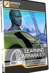 Learning Carrara 8.5 video training By Phil Wilkes