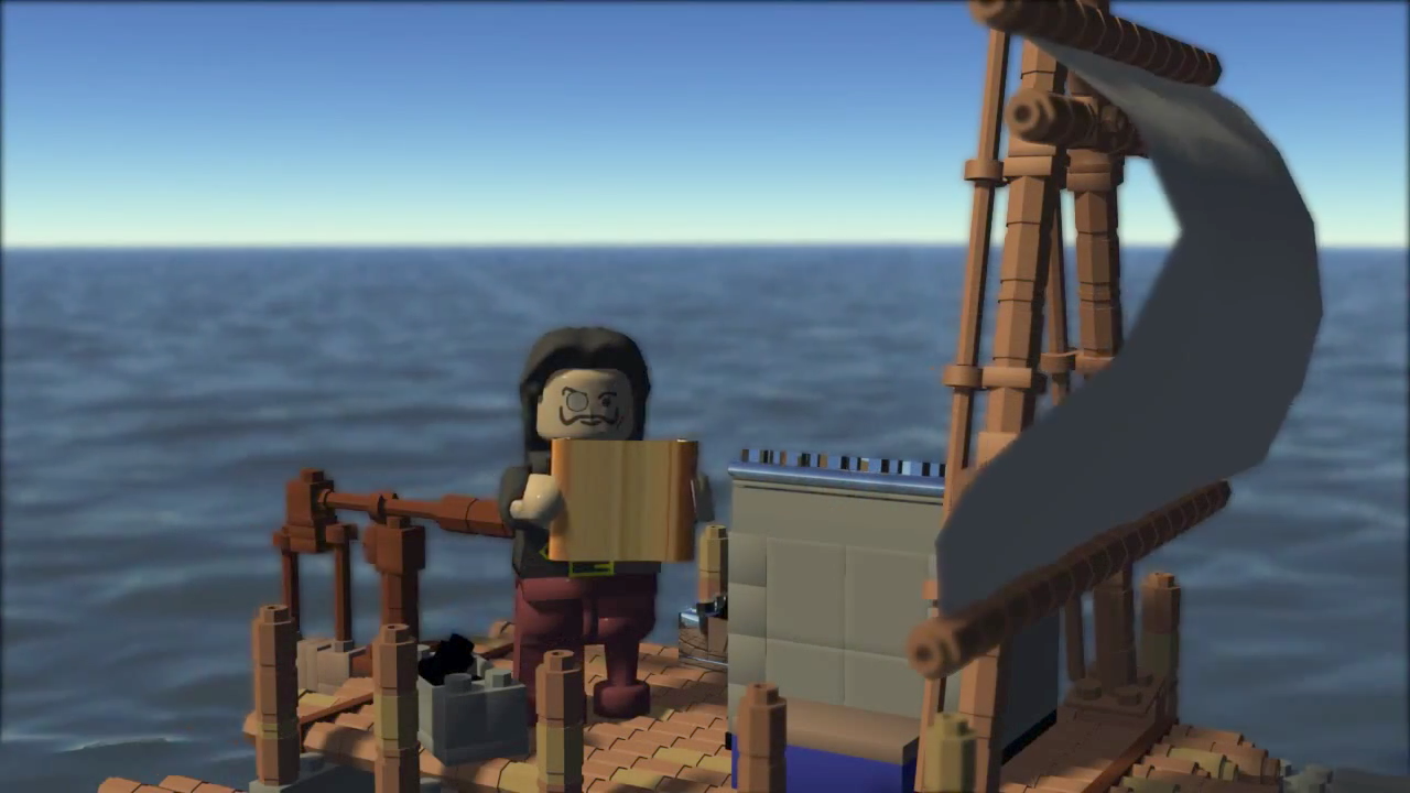 A Pirate's Quest – CG animated Lego short movie