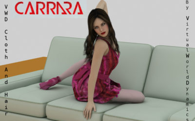 New Carrara plugin: VWD Cloth And Hair by philemot